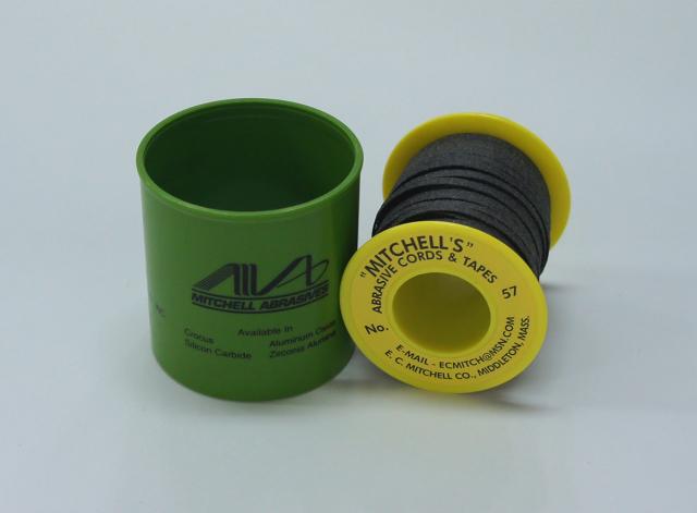 《MITCHELL'S》 ミッチェルテープ USA テープヤスリ 57番3.18mm巾x15m巻 150番