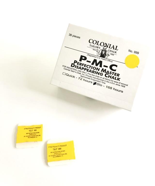 PMCスローチョーク・スローチャコ #999  自然に消える・アイロンで消える 36枚入/箱