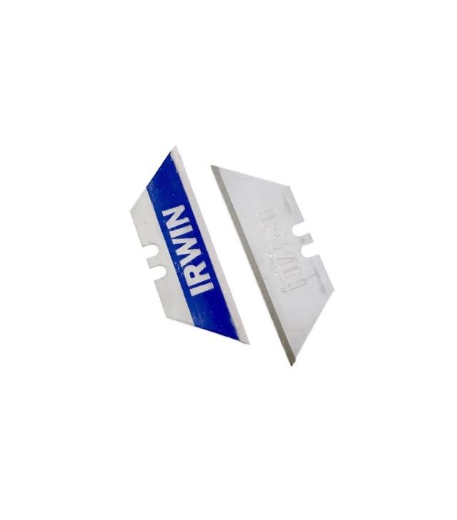 IRWIN アーウィン バイメタルブルーブレード リトラクタブルナイフ用替刃5枚入り