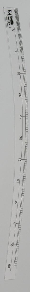 2590 アクリルカーブAカーブ60cm