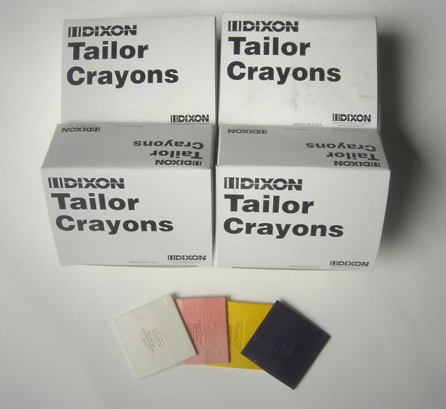 5350-5380 ディクソンチョークDIXONCHALK白・赤・黄(合計3色)24枚入/箱