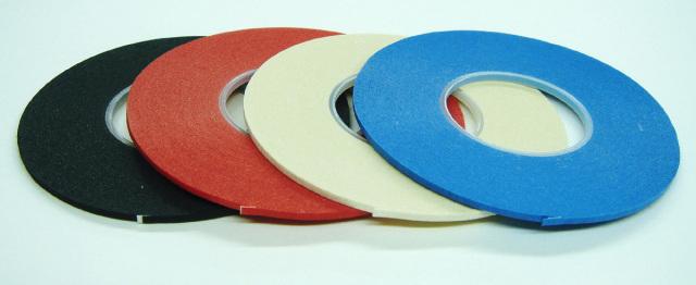 3015-3018 ボディラインテープBody-LineTapeICテープ巾1.5mm/16m巻黒・赤・白・青