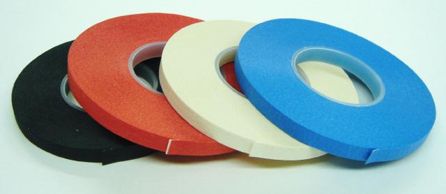 3050-3053 ボディラインテープBody-LineTapeICテープ巾5.0mm/16m巻黒・赤・白・青