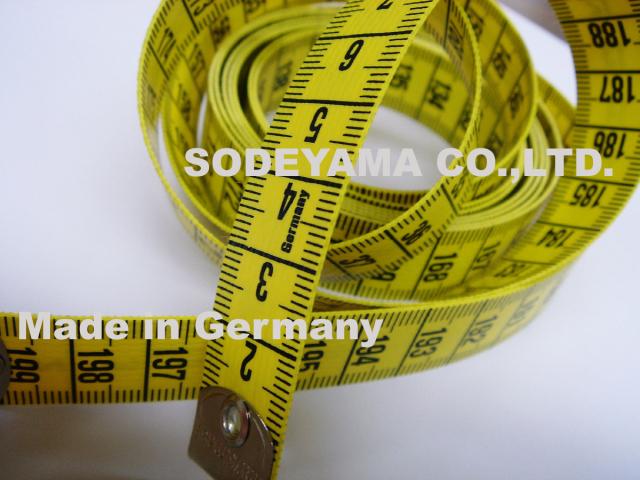 2784 ヘキストマスhoechstmassテイラーメジャー200cm19mm巾