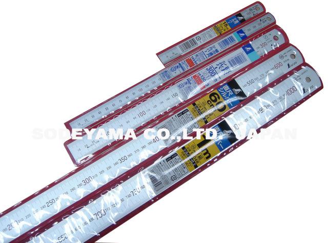 2850 ステンレスシルバー直尺巾広30cm(335x25x1.0mm)