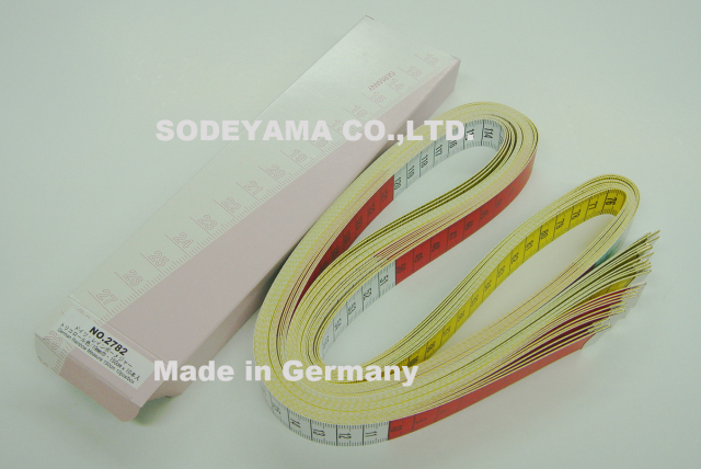 2782-box 箱売り特価!ドイツ製ヘキストマスhoechstmassレインボーメジャー150cmcm/cm