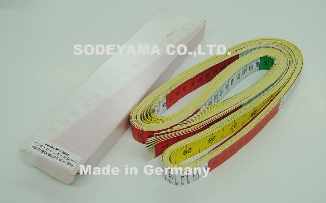 2792-box ドイツ製ヘキストマスhoechstmassレインボーメジャー150cm/60inchcm/inch