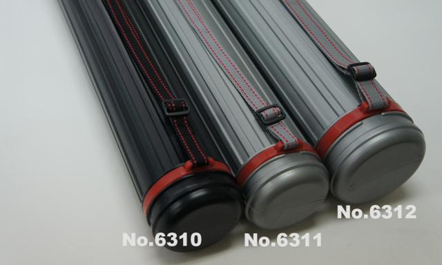 6310-6311 アジャスターケース伸縮可能サイズ640x1000直径80mm(内径70mm)x長さ640mm