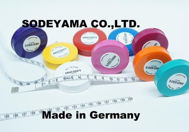 2710-2718 ドイツ製ヘキストマスhoechstmassロールメジャー全9色あり