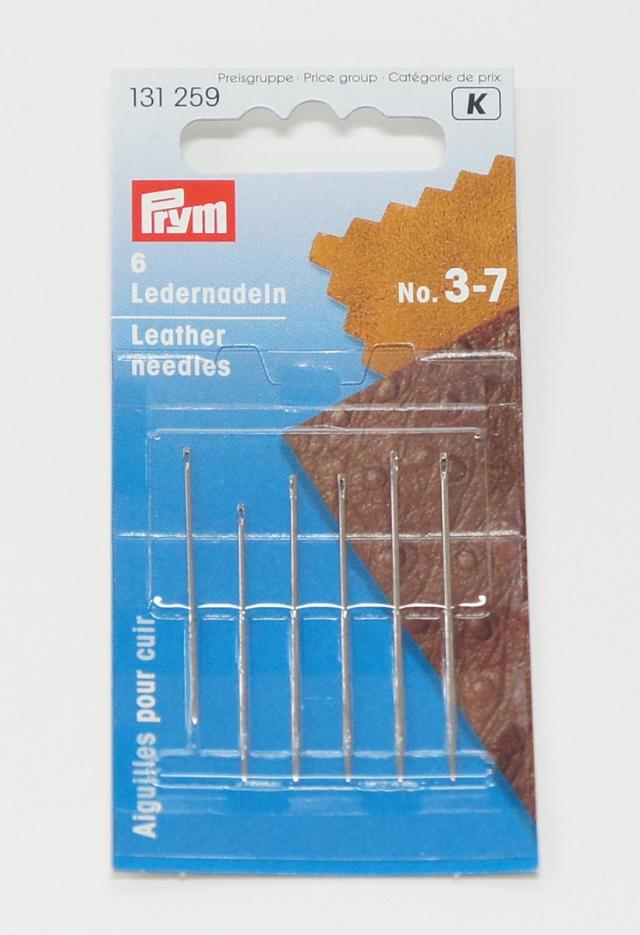 6787 PRYMドイツ・皮革専用針6本セット