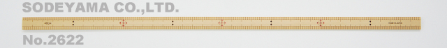 2622 竹尺細巾40cm(巾13mm)