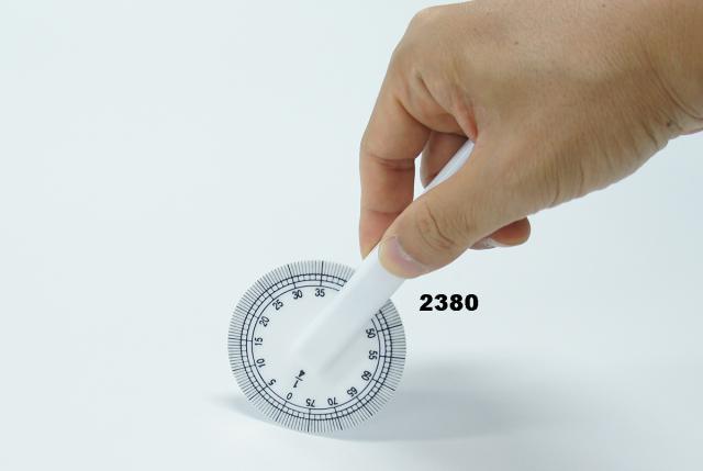 2380 マールサシ1/4縮寸+原寸(実目)回転式定規