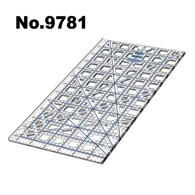 9781 ガイドカッター定規トゥルーカッター専用定規ロータリーカッター定規