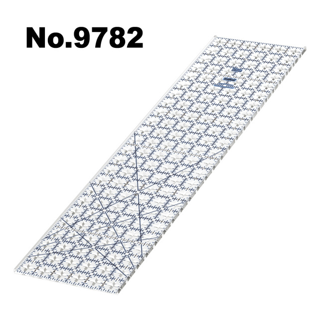 9782 ガイドカッター定規トゥルーカッター専用定規ロータリーカッター定規