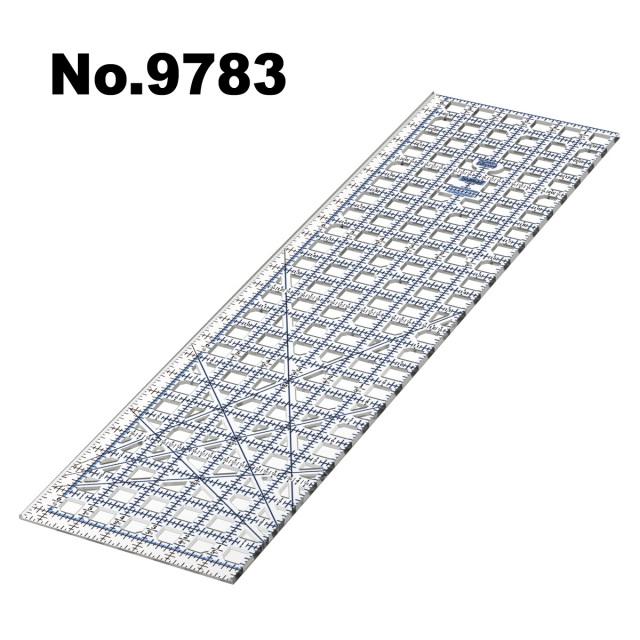 9783 ガイドカッター定規トゥルーカッター専用定規ロータリーカッター定規