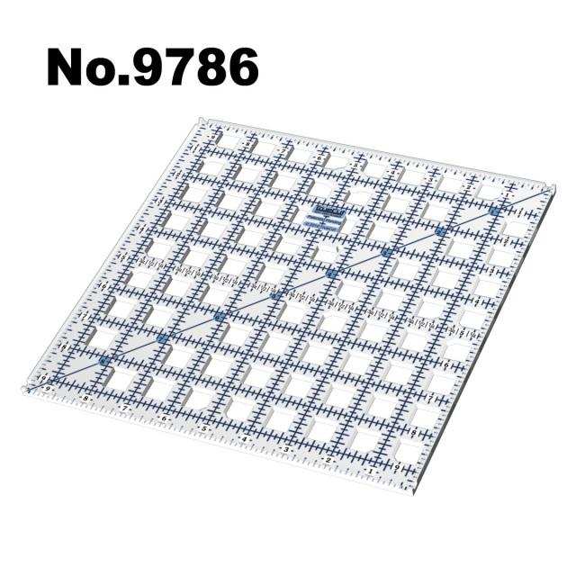 9786 ガイドカッター定規トゥルーカッター専用定規ロータリーカッター定規