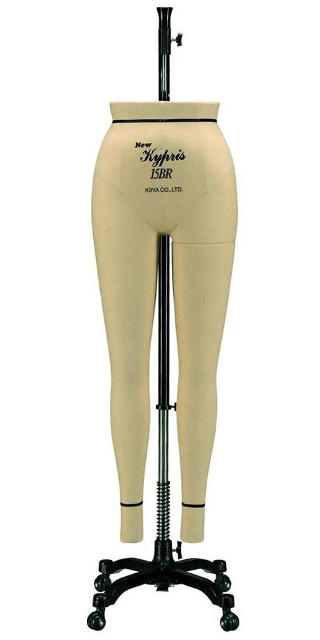 1417 《キイヤ》レディース用ダミーNewKyprisニューキプリスB体型レギュラー(Regular)パンツボディ(Pants)
