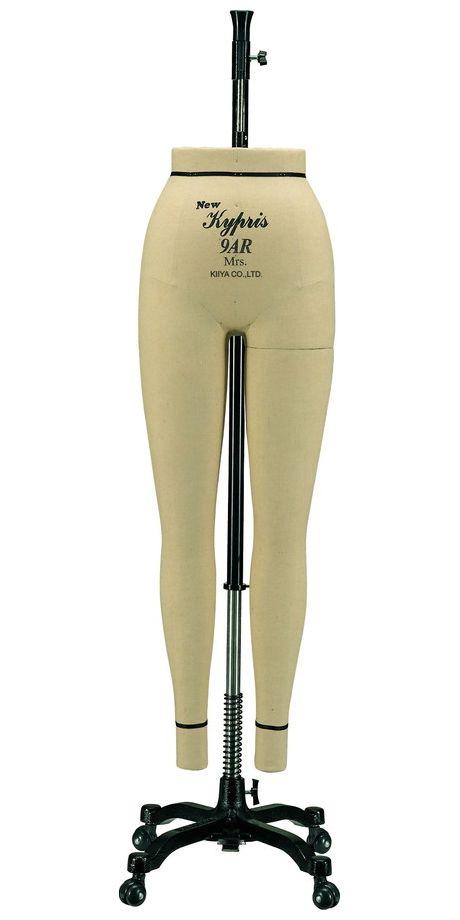 1416 《キイヤ》レディース用ダミーNewKypris9AR-MPニューキプリスA体型ミセス(Mrs.)パンツボディ(Pants)