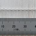 SV 丸アズキチェーン 線径0.45mm ハンパ 19cm