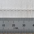 SV 丸アズキ 粗目チェーン 線径0.35mm ハンパ 18cm