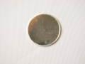 950銀 丸抜き板 50mm 厚み0.5mm (限定品)