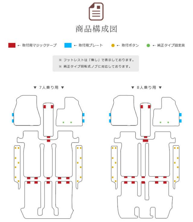 トヨタヴォクシーノア80系フロアマットステップマットDXシリーズDXマットZWRZRR8085GW純正TYPETOYOTANOAHVOXYカーマットカー用品パーツ