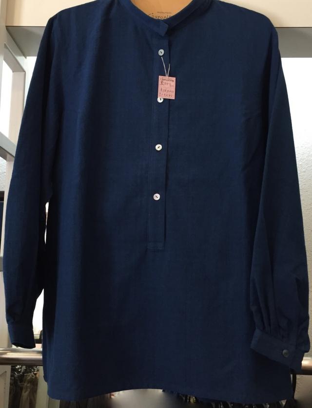 藍ステラシャツ