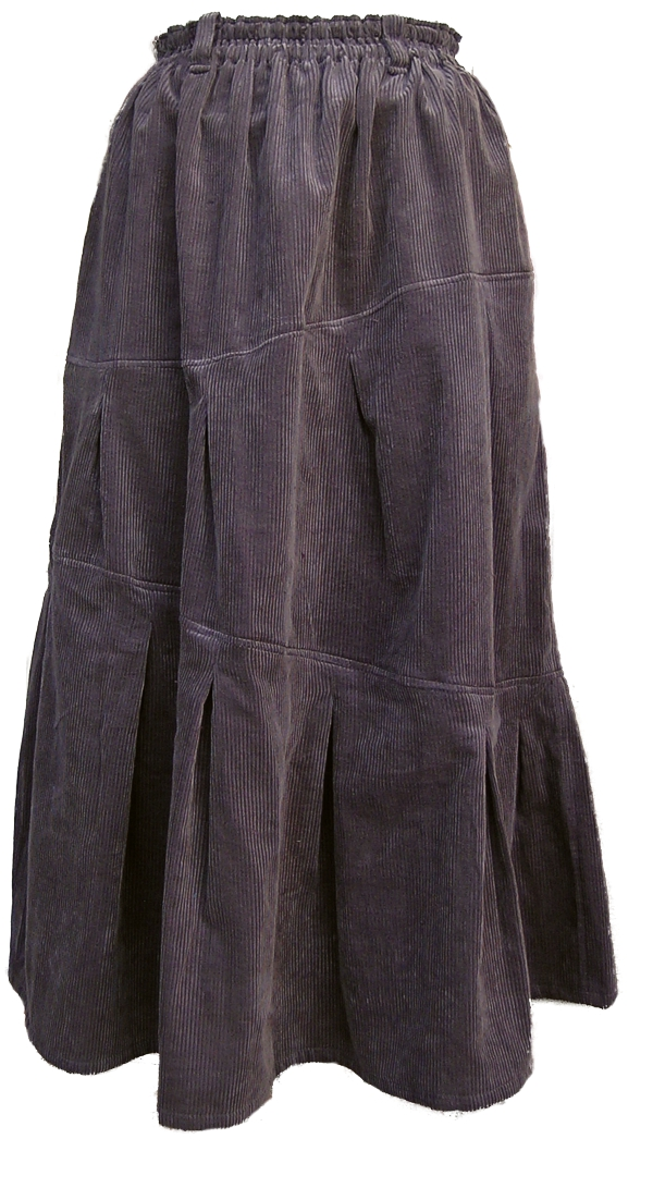 茶黒のポッポスカート