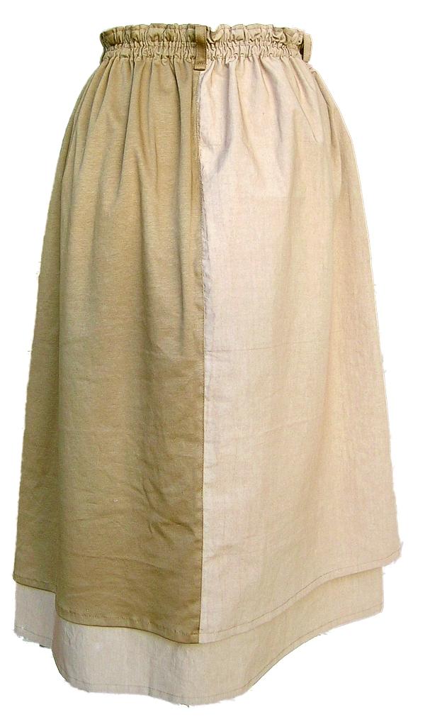 トルンスカートの背面画像