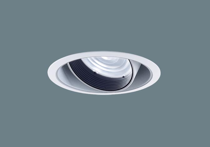 [メーカー保証]Panasonic NTS62076W  天井埋込型 LED(白色) ユニバーサルダウンライト 美光色・HID70形器具相当・ビーム角22度・中角タイプ・光源遮光角15度 埋込穴φ125