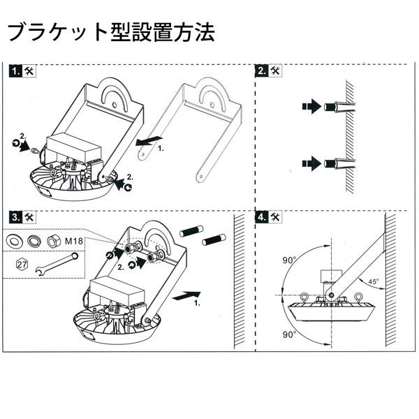 ブラケット型設置方法