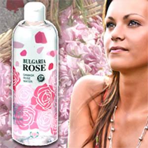 【送料無料】100%天然で作られた自然化粧水:ダマスク ローズウォーター(お徳用ボトル500ml)