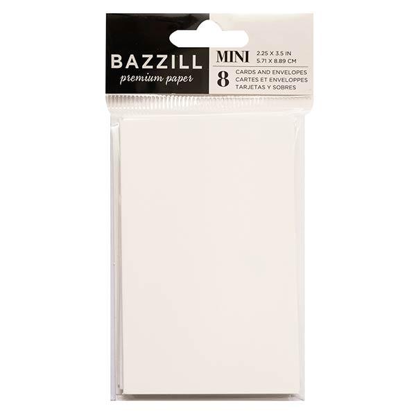Bazzill Basics ミニカード&封筒セット