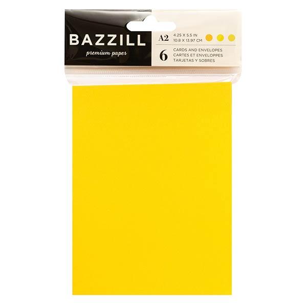 Bazzill Basics カード&封筒セット