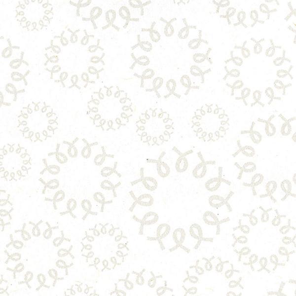 Bazzill Basics Glazed Ribbon Floral