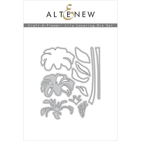 アルテニュー Craft-A-Flower: Lily Layering Die Set
