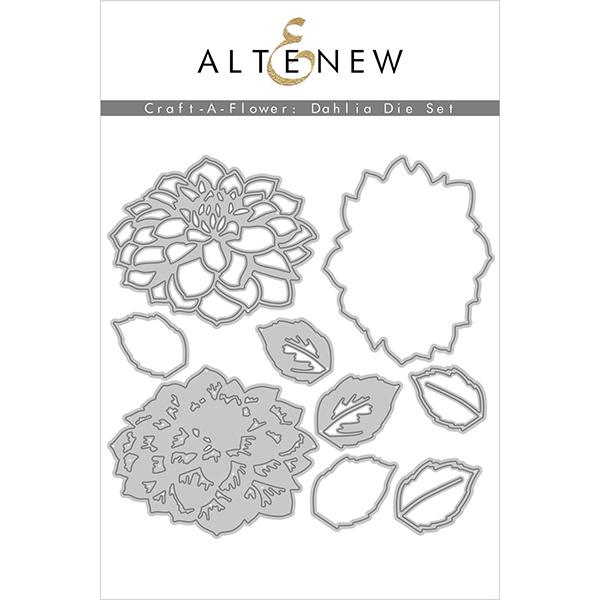 アルテニュー Craft-A-Flower: Dahlia Layering Die Set
