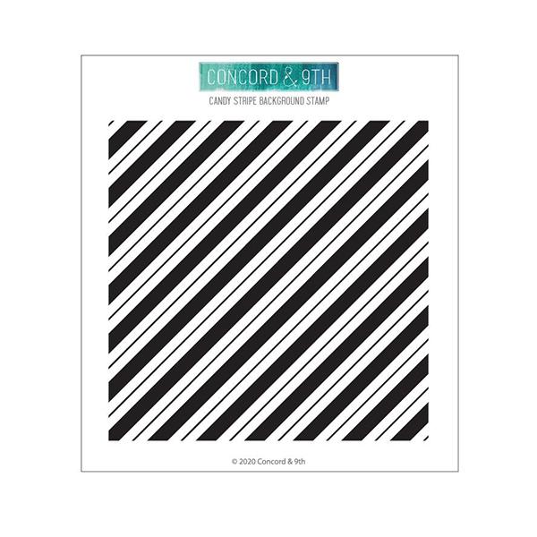 コンコード&ナインス Candy Stripe Background