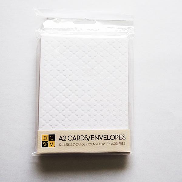 アメリカンクラフト カード&封筒セット