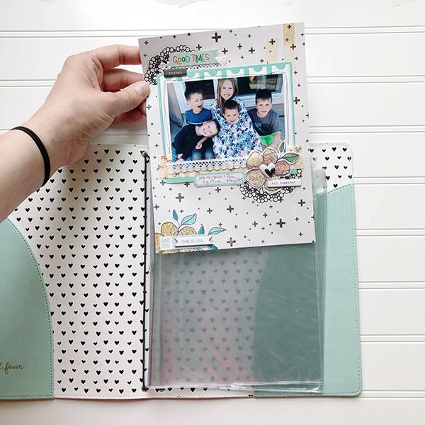 フレックルドフォーン A5 Traveler's notebook scrapbook Insert