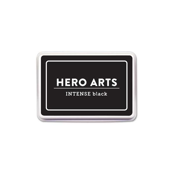 【ヒーローアーツ/Hero Arts】スタンプインクパッド - Intense Black