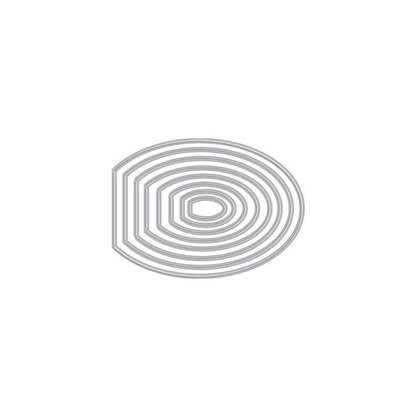 ヒーローアーツ Oval Peek-A-Boo Doors Mini Infinity Dies