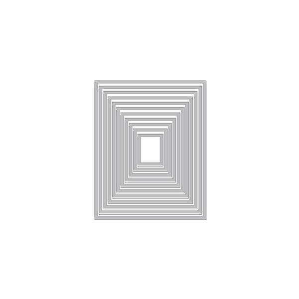 ヒーローアーツ Rectangle Peek-A-Boo Doors Mini Infinity Dies