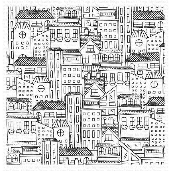 マイフェイバリットシングス City Block Background