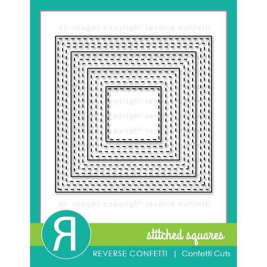 リバースコンフェッティ Stitched Squares