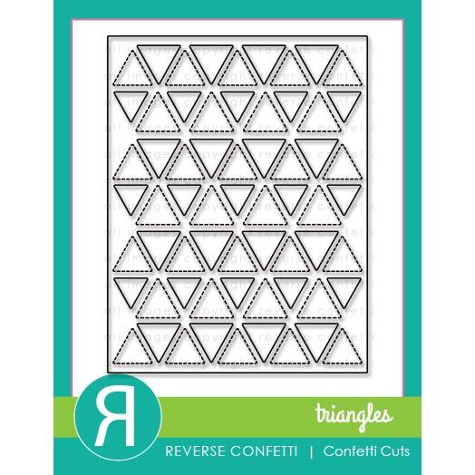 リバースコンフェッティ Triangles Cover Panel
