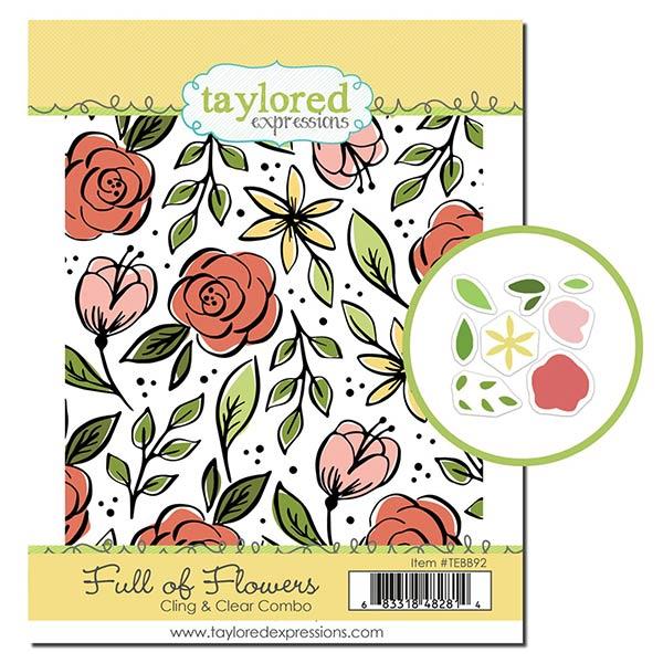 テイラードエクスプレッション Full of Flowers Cling & Clear Combo
