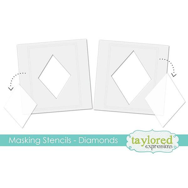 テイラードエクスプレッション Masking Stencils - Diamonds