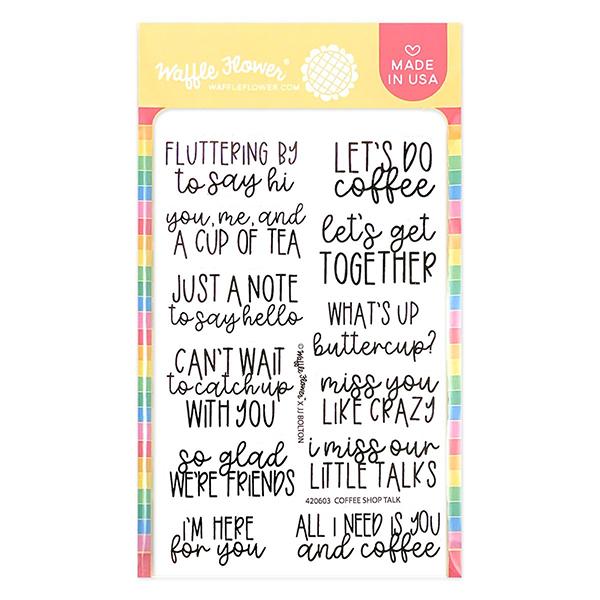 ワッフルフラワー Coffee Shop Talk