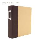【シンプルストーリーズ/Simple Stories】【Sn@p!】6×8インチアルバム-2リング-バインダー/ブラウン